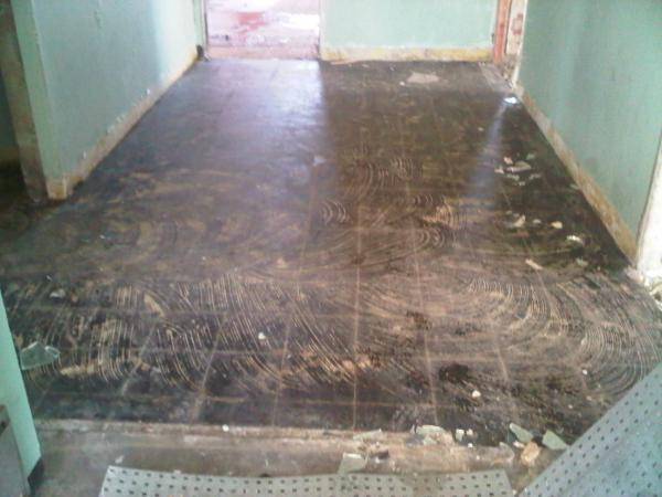 Floor Tile Removal